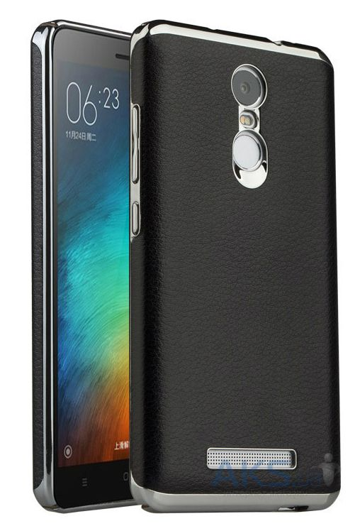 Чехол Slenky Buisness Leather Series Xiaomi Redmi Note 3, Redmi Note 3 Pro Black