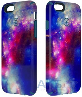 Чехол Speck CandyShell Inked SuperNova Apple iPhone 6, iPhone 6S Red Pattern/Tahoe Blue (SPK-A3071)
