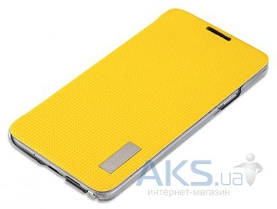 Чехол Rock Elegant Series Samsung N7502 Galaxy Note 3 Neo Duos lemon yellow