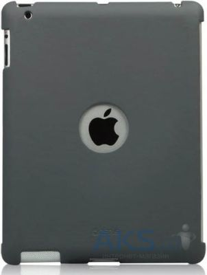 Чехол для планшета Zenus Synthetic Leather Smart Match Back Cover for Apple iPad 4 Grey