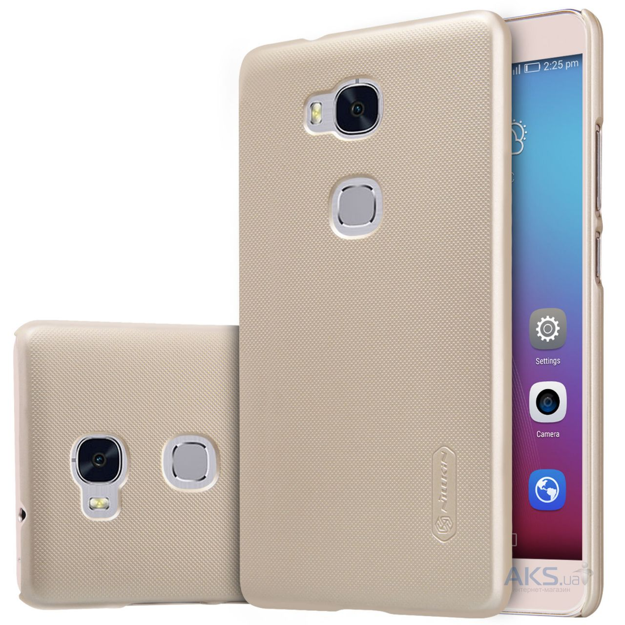 Чехол Nillkin Super Frosted Shield Huawei Honor 5X, GR5 Gold