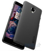 Вид 3 - Чехол Nillkin Super Frosted Shield OnePlus 3 Black