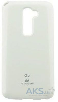 Чехол Mercury TPU Color Jelly Series LG Optimus G2 mini D618 White