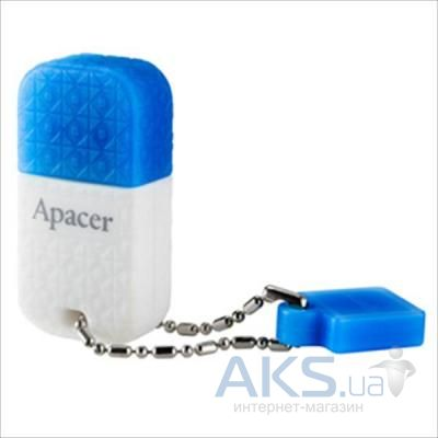 Флешка Apacer 8GB AH154 white/blue USB 3.0 (AP8GAH154U-1)