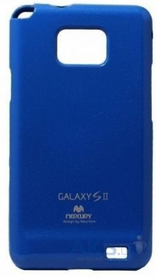 Чехол Mercury TPU Jelly Color Series Samsung i9100 Galaxy S2, i9105 Galaxy S2 Plus Blue