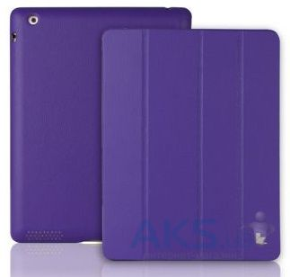 Чехол для планшета JisonCase Executive Smart Cover for iPad 4/3/2 Purple (JS-IPD-06H50)