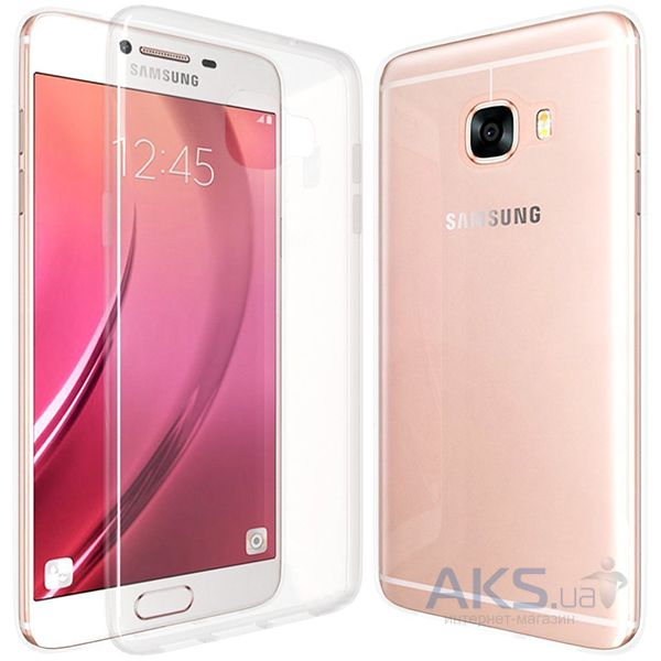 Чехол Original Ultra Thin TPU Samsung Galaxy C7 Transparent