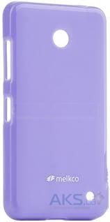 Чехол Melkco Poly Jacket TPU case for Nokia Lumia 530 Purple