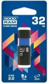 Вид 5 - Флешка GooDRam 32 GB Sl!de (PD32GH2GRSLBR10) Blue