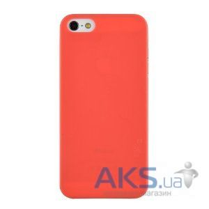 Чехол Melkco Air PP 0.4 mm cover case for iPhone 5C Red [APIPONUTPPRD]