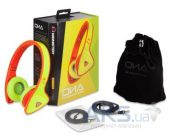 Вид 2 - Наушники (гарнитура) Monster DNA On-Ear Headphones Yellow on Neon Orange (MNS-128542-00)