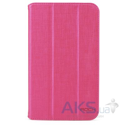 Чехол для планшета Rock Flexible Series for Samsung Galaxy Tab 3 7.0 T210/T211 Rose Red