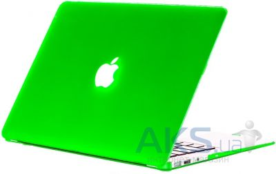 Чехол Kuzy Rubberized Case for MacBook Pro 15 (with Retina display) Green