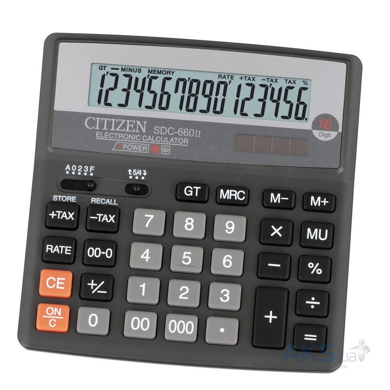 Калькулятор Citizen SDC-660 II