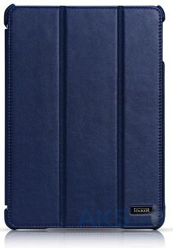 Чехол для планшета iCarer Ultra thin genuine leather series for iPad Air Blue (RID501blu)