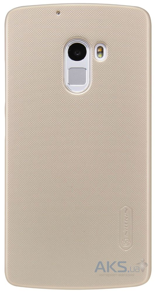 Чехол Nillkin Super Frosted Shield Lenovo A7010 X3 Lite, K4 Note Gold