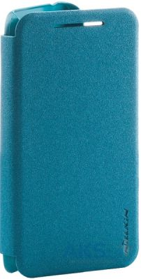 Чехол Nillkin Sparkle Leather Series HTC Desire 210 Blue