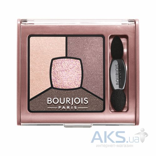 Тени Bourjois Smoky Stories Palette №02 - Over Rose