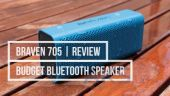 Колонки акустические BRAVEN 705 Wireless HD Bluetooth Speaker Blue