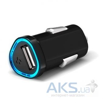 Зарядное устройство SGP Compact Car Charger Kuel P12Q/C Series Black for iPad/iPhone/iPod/Mobile (SGP08336)