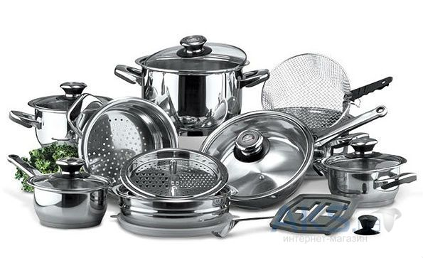 Набор посуды Vinzer Grand Cuisine Glass 89024