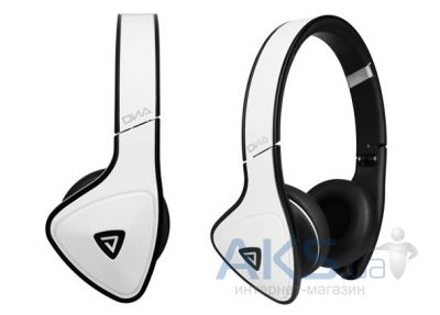 Наушники (гарнитура) Monster DNA On-Ear Headphones White Tuxedo (MNS-128484-00)