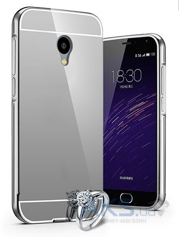 Чехол Original Mirror Series Meizu M2, M2 Mini Silver