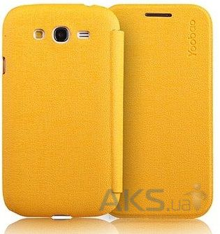 Чехол Yoobao Slim Leather case for Samsung i9082 Galaxy Grand Duos Yellow (LCSAMI9082-SYL)