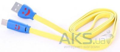 Кабель USB LED USB Lightning Cable for iPhone 6 Yellow / Blue