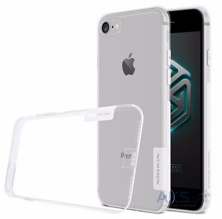 Чехол Nillkin Nature Series Apple iPhone 7 Transparent