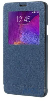 Чехол Mercury Wow Bumper Series Samsung N910 Galaxy Note 4 Blue