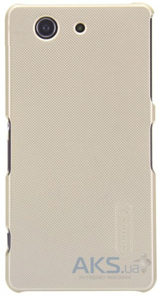 Чехол Nillkin Super Frosted Shield Sony Xperia Z3 Compact D5803 Gold