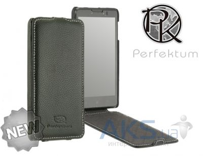 Чехол Perfektum Leather Flip series LG G3s D724 Black