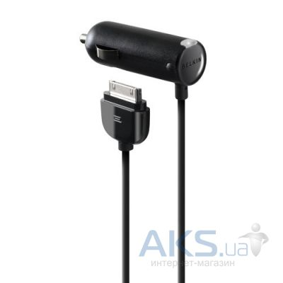 Зарядное устройство Belkin Car charger + Dock connecor для Apple (F8Z184 ZH)
