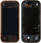 Сенсор (тачскрин) для Nokia N97 Mini with frame Original Brown