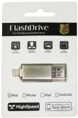 Гаджет  FlashDrive for iPhone/iPod/iPad 64Gb class 10