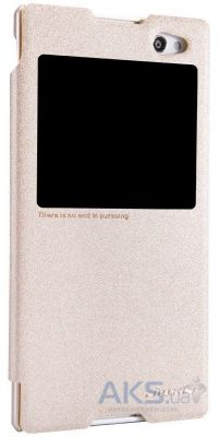 Чехол Nillkin Sparkle Leather Series Sony Xperia C3 D2502 Gold