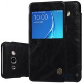 Чехол Nillkin Qin Leather Series Samsung J510 Galaxy J5 2016 Black