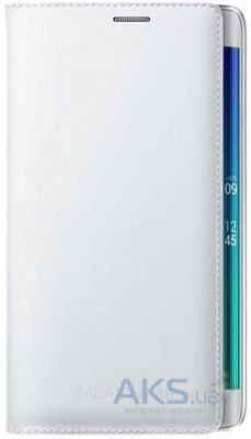 Чехол Samsung Flip Wallet Cover для Galaxy Note Edge White (EF-WN915BWEGRU)