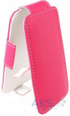 Чехол Sirius flip case Alcatel One Touch 8020d Hero Pink