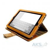 Вид 5 - Чехол для планшета Alston Craig Vintage Leather Series Apple iPad Air Brown (I11_7)