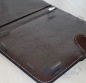 Вид 5 - Обложка (чехол) Saxon Case для PocketBook Touch 622 Dragon Brown