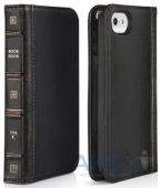 Вид 2 - Чехол Twelvesouth Leather Case BookBook Classic Apple iPhone 5, iPhone 5S, iPhone SE Black (TWS-12-1233)