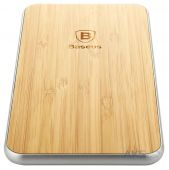 Зарядное устройство Baseus Flare Sries Wireless Charging Pad (Rectangle) Wood