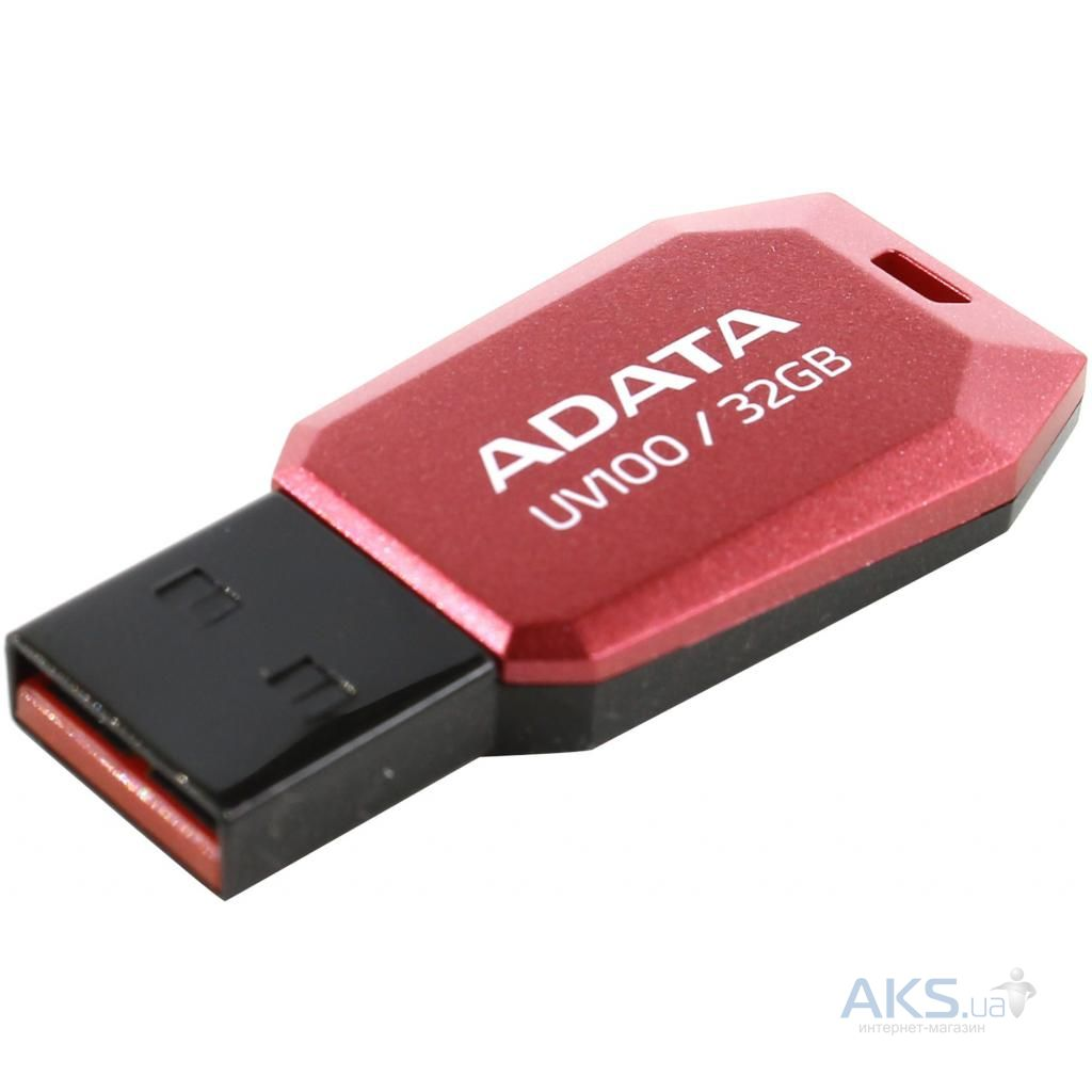 Фле�ка 32gb dashdrive uv100 red usb 20 auv10032grrd