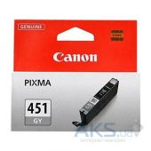 Картридж Canon CLI-451 для PIXMA MG5440/MG6340 (6527B001) Grey