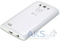Чехол Rock Enchanting Series LG G3 D850, G3 D855, G3 D856 Dual White