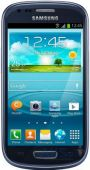 Дисплей (экран) для телефона Samsung Galaxy S3 Mini Neo I8200 + Touchscreen with frame Original Blue