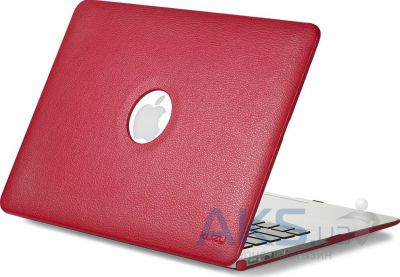 Чехол Kuzy Leather Case for MacBook Air 13 Red