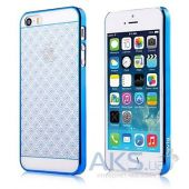 Чехол Devia Glimmer Brocade Apple iPhone 5, iPhone 5S, iPhone SE Blue